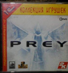 """Диск с игрой """"PREY""""."""