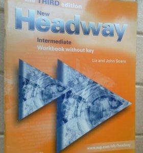 Учебники New Headway intermediate 3шт.