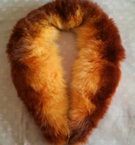 Куртка теплая мех из лисы