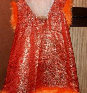 Новогодний костюм (лисичка)