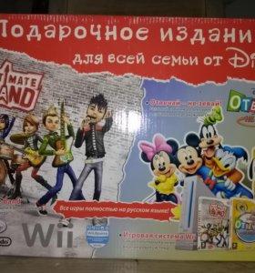 Nintendo Wii + две игры.