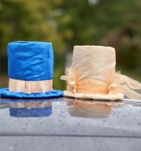 Украшение для свадебного авто