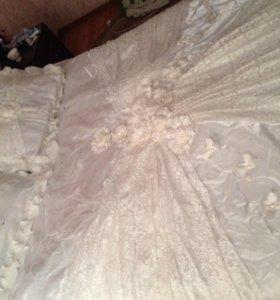 Покрывало свадебное