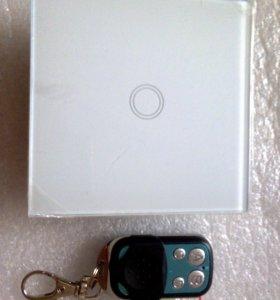 Сенсорный выключатель с пультов