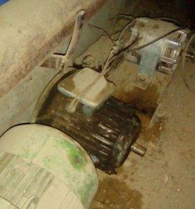 Электро двигатель однофазный от стиральной машинки