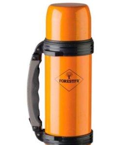 Термос forester 0.75 л со складной ручкой