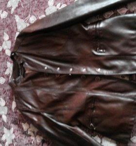 Куртка новая кожанная натуральная