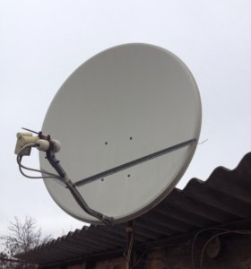 Спутниковая тарелка ( д 1 м )