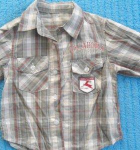 Рубашка фирменная новая