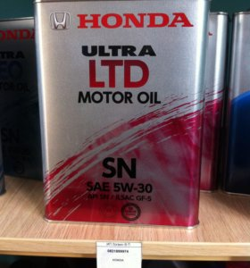 Масло моторное Honda