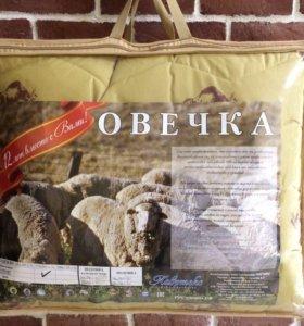 Одеяло наполнитель шерсть овечья 2 спальное