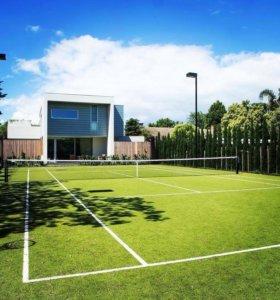 Теннис, перетяжка теннисных ракеток, струны