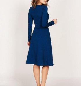 Платье юбка-трапеция из итальянского трикотажа.