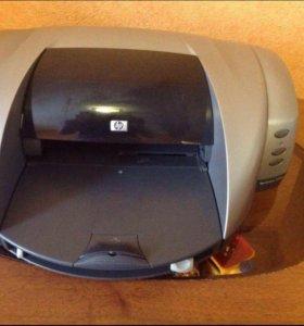 Принтер HP DeskJet 5550 рабочий