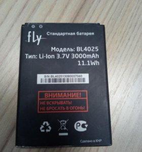 Акб fly iq4411