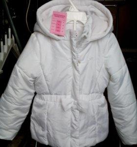 Куртка утепленная,рост104-110
