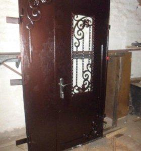 Металлические входые двери
