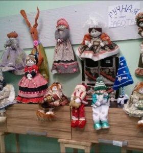 Функционалные куклы ханд мейд (ручная работа)