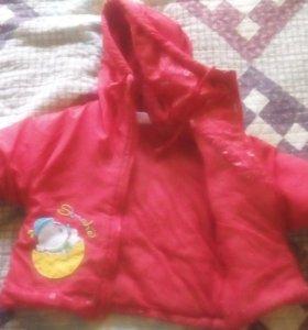 Куртка на девочку 2 года