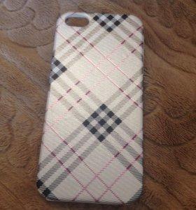 Новый чехол Burberry на iPhone 5/5S/SE/7