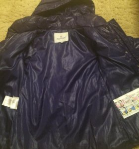 Зимняя куртка на девочку 110-116 размер