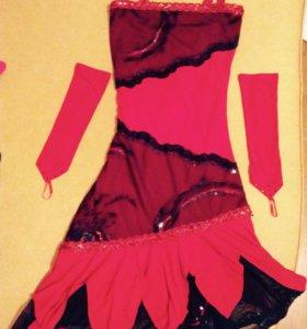 Бальное платье новое стандарт. Платье для танцев