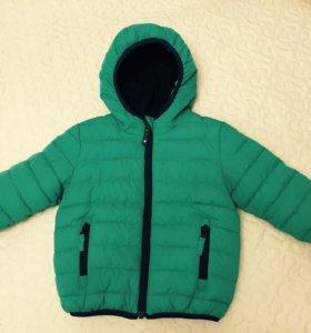 Детская утеплённая куртка весна -осень