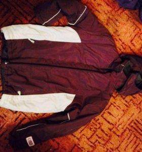 Зимняя немецкая куртка и полукомбинезон