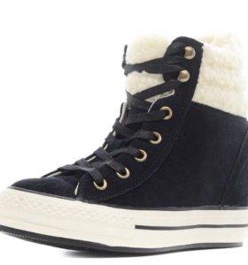 Ботинки утеплённые Converse р.39 новые