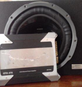 Сабвуфер  Sony Xplod