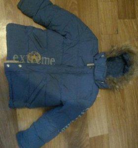Куртка детская зима для мальчика