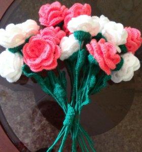 Розы своими руками🙌🏼