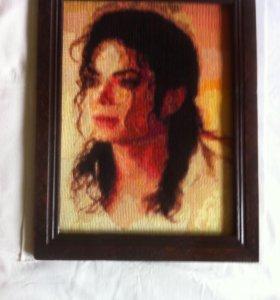 Картина портрет М. Джексона
