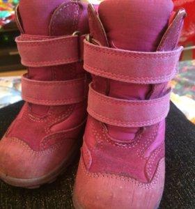 Ботинки детские Ecco б/у 21 р и 25 р
