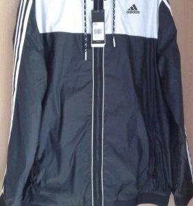 Ветровка мужская Adidas р. XL (58) новая.