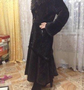Шуба мутоновая, Турция