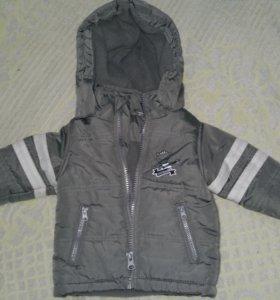 Курточка на совсем малыша
