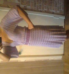 Продам вязанное платье