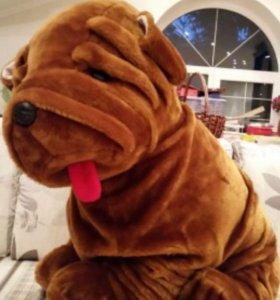 Собака новая, 75 см