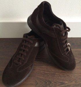 Кожаные кроссовки Valleverde