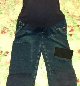 Теплые джинсы для беременных