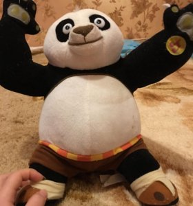 Игрушка конг фу панда