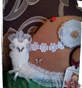 Подушка-улитка декоративная
