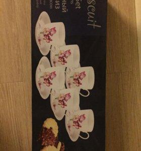 Новый набор посуды для чая