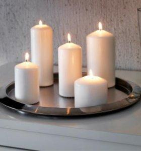 Свечи восковые 21шт