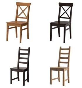 Новые стулья Икеа Каустби и Ингольф