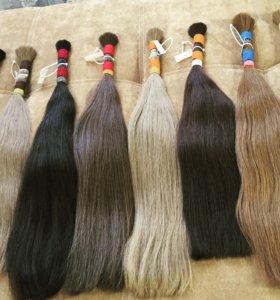 Славянские волосы в срезах и на капсулах