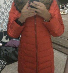 Зимнее пальто монклер