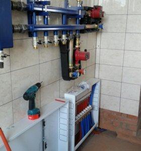 Отопление, водоснабжение. Котельная