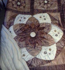 Покрывало и декоративные чехлы на подушки Arya